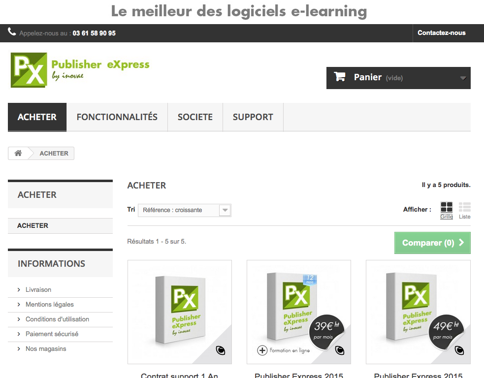 Inovae publisher express le meilleur des logiciels e for Le meilleur logiciel